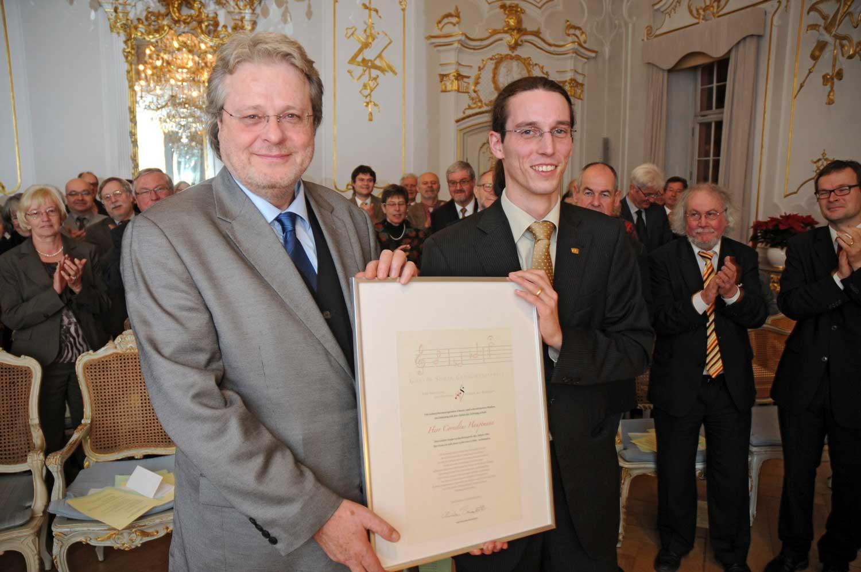 Gräfin Sonja Gedächtnispreis an Cornelius Hauptmann