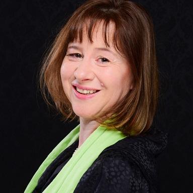 """Portrait Manuela Nägele, Vorstandsmitglied der Stiftung """"Singen mit Kindern"""""""