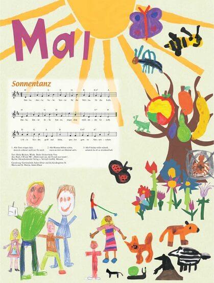 Liederkalender Klasse 0/1 Monatslied Mai