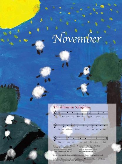 Liederkalender Klasse 0/1 Monatslied November