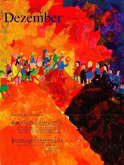 Liederkalender Klasse 1/2 Monatslied Dezember