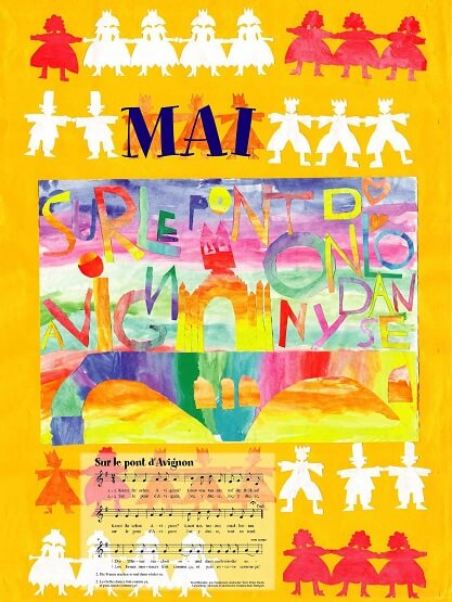Liederkalender Klasse 1/2 Monatslied Mai