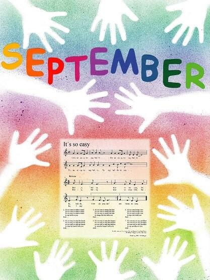 Liederkalender Klasse 1/2 Monatslied September