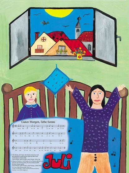 Liederkalender Klasse 2/3 Monatslied Juli
