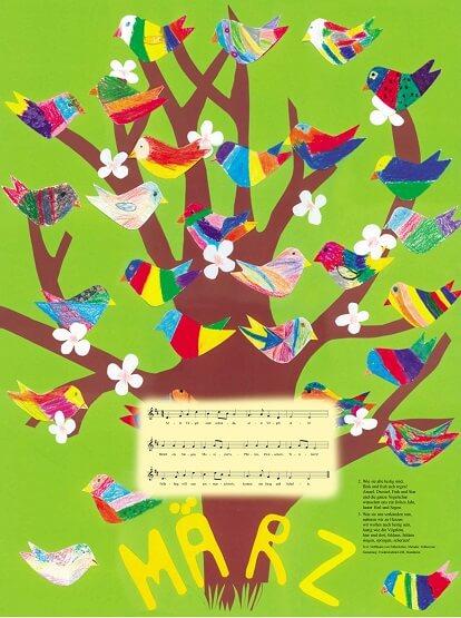 Liederkalender Klasse 2/3 Monatslied Maerz