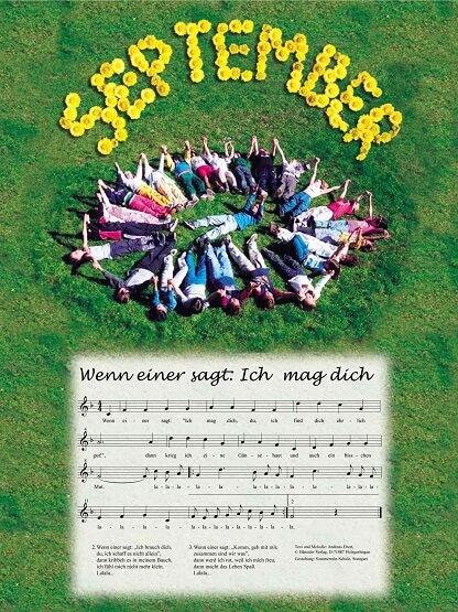 Liederkalender Klasse 2/3 Monatslied September