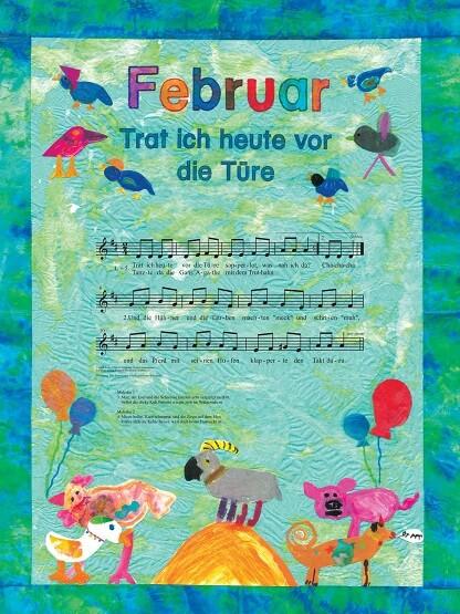 Liederkalender Klasse 3/4 Monatslied Februar