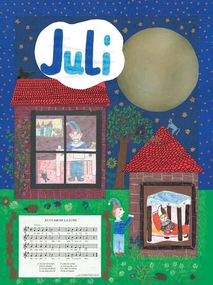 Liederkalender Klasse 3/4 Monatslied Juli