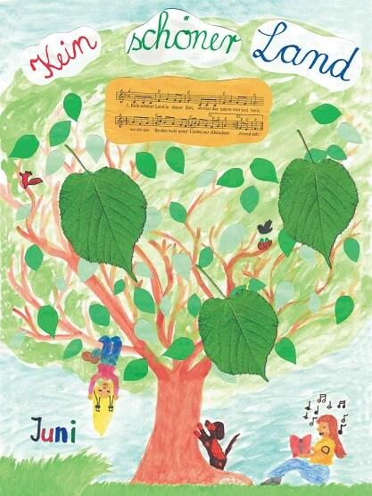 Liederkalender Klasse 3/4 Monatslied Juni