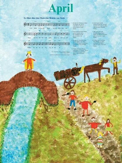 Liederkalender Klasse 4/5 Monatslied April