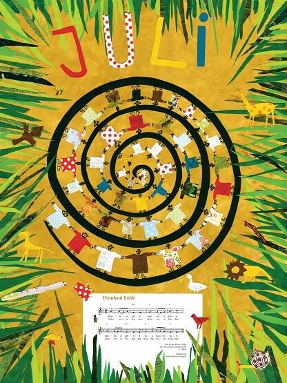 Liederkalender Klasse 4/5 Monatslied Juli