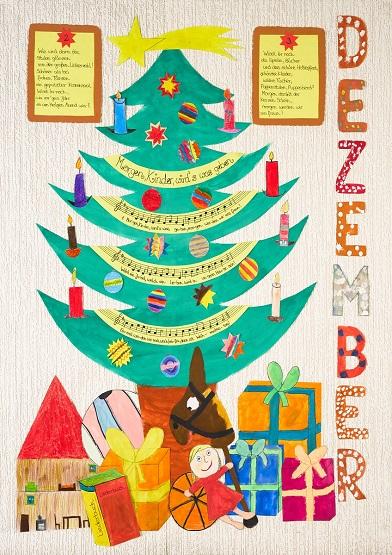 Neue Liederkalender Monat Dezember