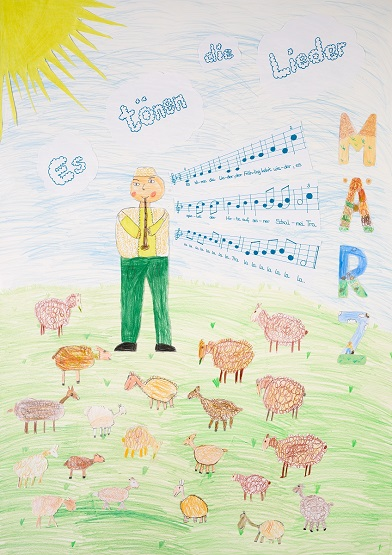 Neue Liederkalender Monat März
