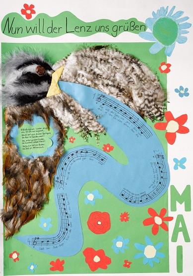 Neue Liederkalender Monat Mai