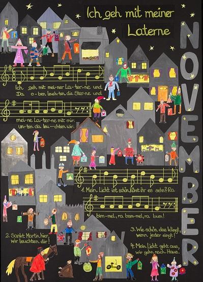 Neue Liederkalender Monat November