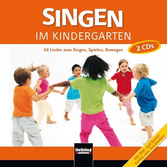 Singen im Kindergarten CD Titelblatt